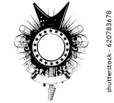 vector illustration guitar and... | Shutterstock .eps vector #620783678