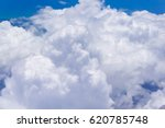 beautiful blue sky with clouds... | Shutterstock . vector #620785748