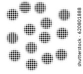 black and white spots inside... | Shutterstock . vector #620801888