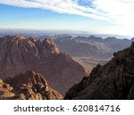 View from Mount Sinai, Sinai Peninsula, Egypt