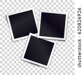 three photorealistic blank... | Shutterstock .eps vector #620826926