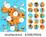 geography visual game  north...   Shutterstock .eps vector #620829836