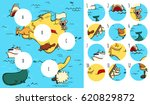 geography visual game ...   Shutterstock .eps vector #620829872