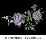 embroidery colorful trend... | Shutterstock .eps vector #620885702