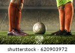feet of soccer players before... | Shutterstock . vector #620903972
