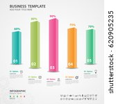 abstract infographics number... | Shutterstock .eps vector #620905235