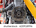 fragment of the engine of the... | Shutterstock . vector #620918996