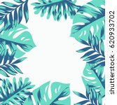 tropical leave background | Shutterstock .eps vector #620933702