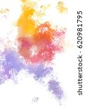 brushed painted abstract... | Shutterstock . vector #620981795