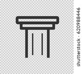 column vector icon eps 10.... | Shutterstock .eps vector #620988446