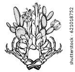 vector illustration. beautiful... | Shutterstock .eps vector #621018752