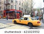new york city   april 13  2017  ...   Shutterstock . vector #621023552