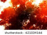 brushed painted abstract...   Shutterstock . vector #621034166