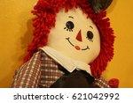 Raggedy Ann Doll Against Yello...