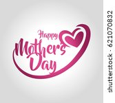 mother's day | Shutterstock .eps vector #621070832