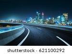 highway overpass modern city... | Shutterstock . vector #621100292