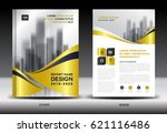 business brochure flyer... | Shutterstock .eps vector #621116486