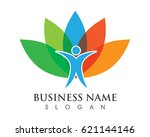 health care people logos | Shutterstock .eps vector #621144146