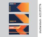 web design elements   header or ... | Shutterstock .eps vector #621195776