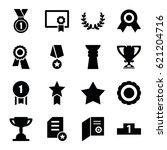 award icons set. set of 16...   Shutterstock .eps vector #621204716