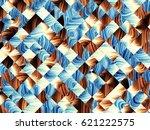 digital art abstract pattern... | Shutterstock . vector #621222575