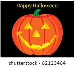 halloween pumpkin | Shutterstock .eps vector #62123464