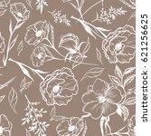 art vintage graphic floral...   Shutterstock .eps vector #621256625