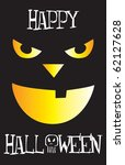 vector illustration of a happy... | Shutterstock .eps vector #62127628
