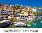idyllic mediterranean...   Shutterstock . vector #621324788