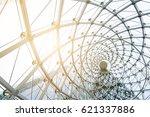 building construction of metal...   Shutterstock . vector #621337886