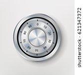 combination lock  realistic... | Shutterstock .eps vector #621347372