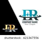 initial letter er fr with... | Shutterstock .eps vector #621367556