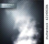 cloud effect on a transparent...   Shutterstock .eps vector #621400286