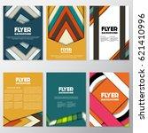 fresh fashion flyer style... | Shutterstock .eps vector #621410996