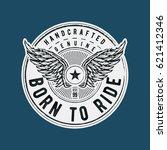 born to ride typographic design ...   Shutterstock .eps vector #621412346