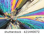 colorful micro crystals of... | Shutterstock . vector #621440072