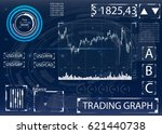 futuristic user interface for... | Shutterstock .eps vector #621440738