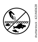Do Not Feed Fish Vector Sign...