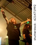 Small photo of Engine Rooms Southampton - October 31st 2016: Vocalist Steve Souza performing with American thrash metal band Exodus at the Engine Rooms, Southampton, October 31 2016 in Southampton, Hampshire, UK