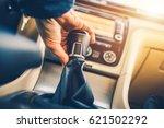 manual transmission driving.... | Shutterstock . vector #621502292