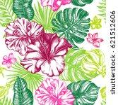 decorative seamless pattern... | Shutterstock .eps vector #621512606