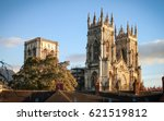 Small photo of York minister, the largest gothic cathedral in Northern Europe