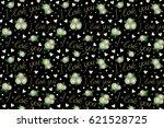 abstract doodle heart  love... | Shutterstock . vector #621528725