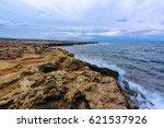 mediterranean coastal landscape | Shutterstock . vector #621537926