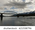 along the columbia river | Shutterstock . vector #621538796