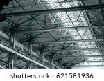 structure steel frame of metal...