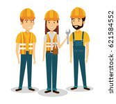 professional construction... | Shutterstock .eps vector #621584552