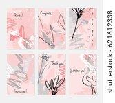 rough sketched dandelion... | Shutterstock .eps vector #621612338