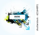 grunge banner for your text ... | Shutterstock .eps vector #62164891