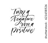 turn a negative into positive... | Shutterstock .eps vector #621658526